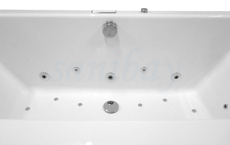 Beispiel 1 Badewanne mit Whirlpool Comfort