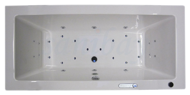 Beispiel 2 Badewanne mit Whirlpool Maxi-Deluxe